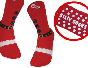 Le calze antiscivolo di Babbo Natale