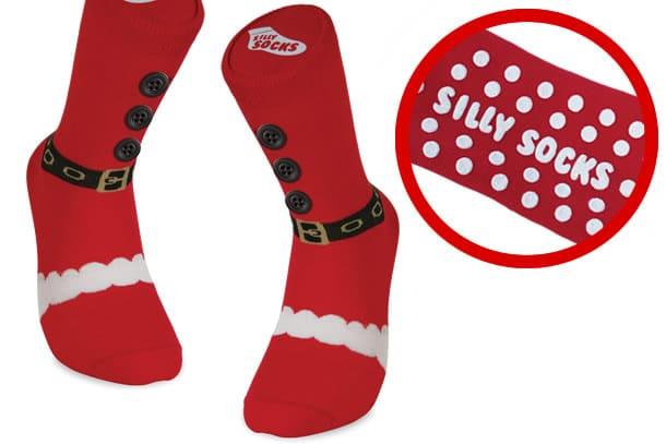 vendita outlet nuove foto l'ultimo Le calze antiscivolo di Babbo Natale