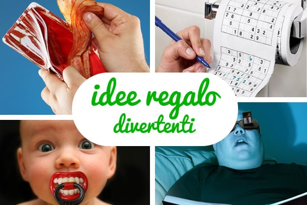 Idee regalo divertenti dottorgadget for Idee regali