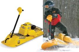 Lo snowboard a motore