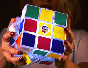 Rubik Cube Light