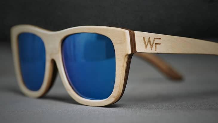 Occhiali da sole wood fellas dottorgadget for Occhiali da sole montatura in legno