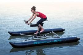 Schiller X1, la bici catamarano