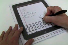 iPaperPad, l'iPad di carta