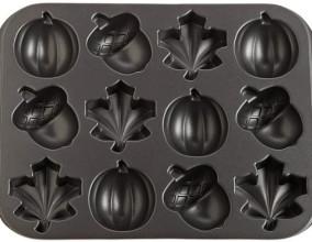 Teglia per dolcetti autunnali 3D