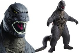Costume gonfiabile di Godzilla