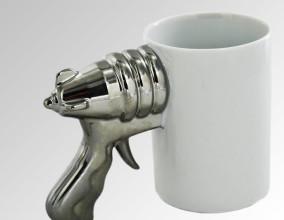Mug pistola sci-fi