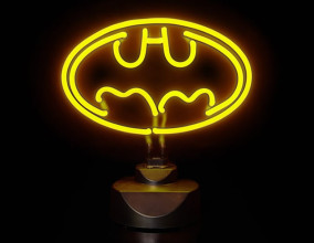 Luce al neon di Batman