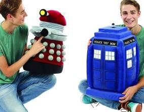 Peluche giganti di Doctor Who