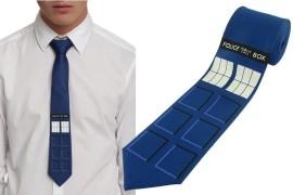 La cravatta TARDIS