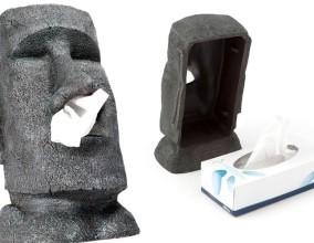 Il Moai dispenser di fazzoletti