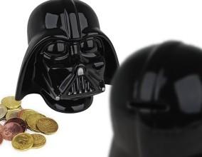 Salvadanaio Darth Vader in ceramica