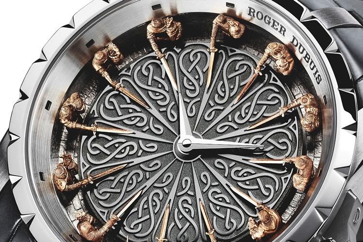 L 39 orologio della tavola rotonda dottorgadget - Cavalieri della tavola rotonda ...