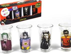 Set bicchierini Batman 1966