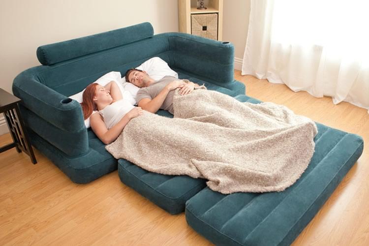 divano letto gonfiabile dottorgadget