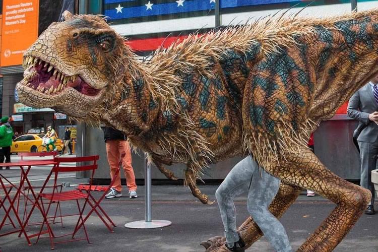 Costume da velociraptor dottorgadget for Gonfiabili halloween