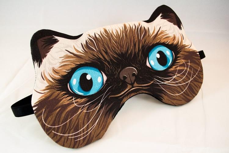 Maschere da notte da animale dottorgadget - Pagina colorazione maschera gatto ...
