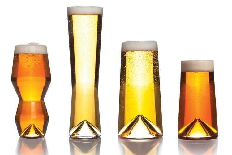 Bicchieri da birra geometrici dottorgadget for Bicchieri birra prezzi