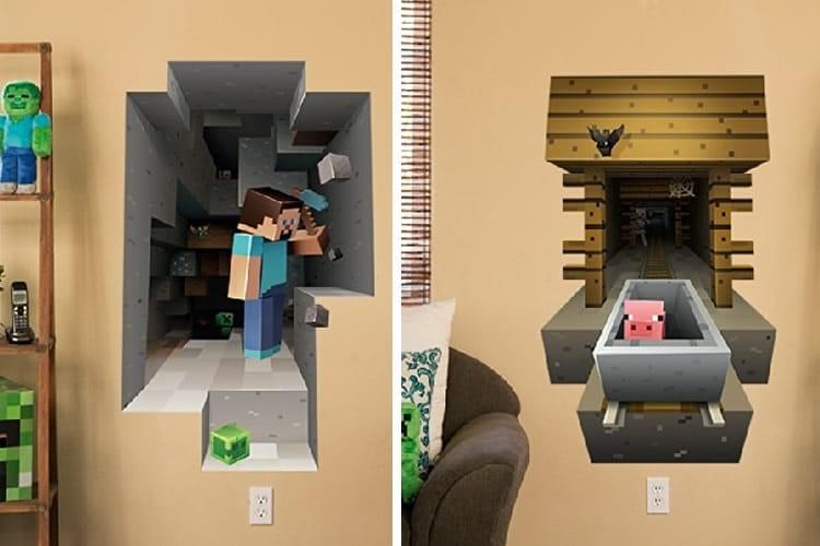 Adesivi Da Parete Minecraft Dottorgadget
