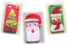Cover natalizie per smartphone