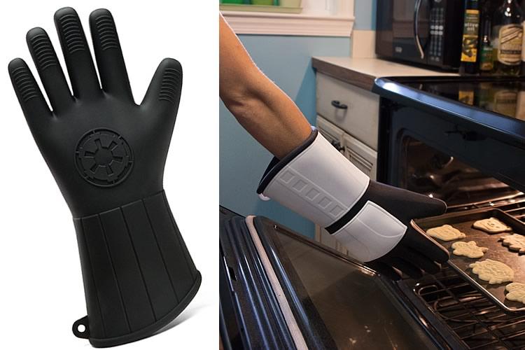 Guanti da forno star wars in silicone dottorgadget - Guanti da cucina ...