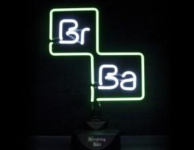 Luce al neon Breaking Bad