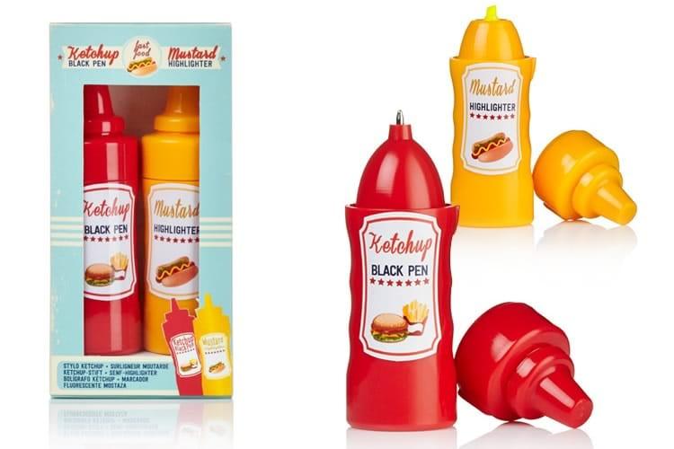 Ketchup e senape da scrivania dottorgadget for Porta ketchup