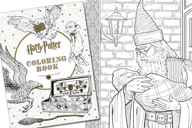 Libro da colorare di harry potter dottorgadget - Libri da colorare gratuiti da stampare ...