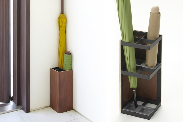 Portaombrelli smart di legno dottorgadget - Portaombrelli design originale ...