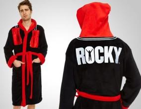 L'accappatoio Rocky con guantoni