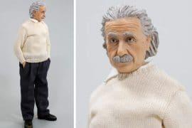 Action figure di Albert Einstein
