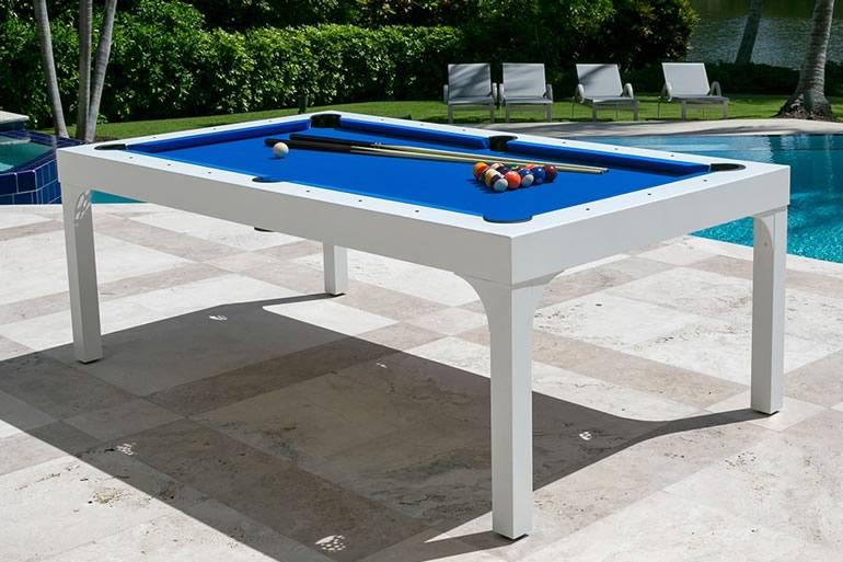 Tavolo da giardino con biliardo dottorgadget - Tavolo da biliardo trasformabile in tavolo da pranzo ...
