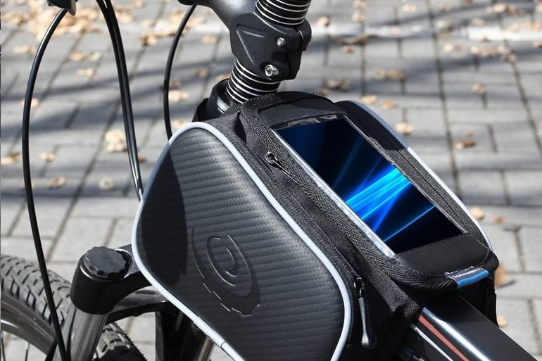 Borsello porta smartphone da bici dottorgadget - Porta bici smart ...