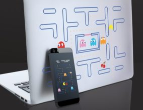 Adesivi per smartphone di Pac-Man