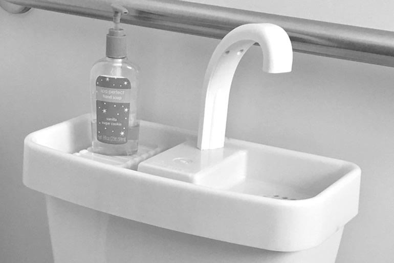 Lavandino da wc dottorgadget - Sciacquone bagno ...