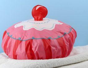 La cuffia da doccia Cupcake