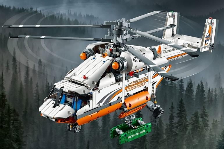 Elicottero A Due Eliche : Elicottero da carico lego technic dottorgadget