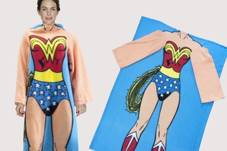 Coperta Con Maniche Originale.Coperta Con Le Maniche Wonder Woman Dottorgadget