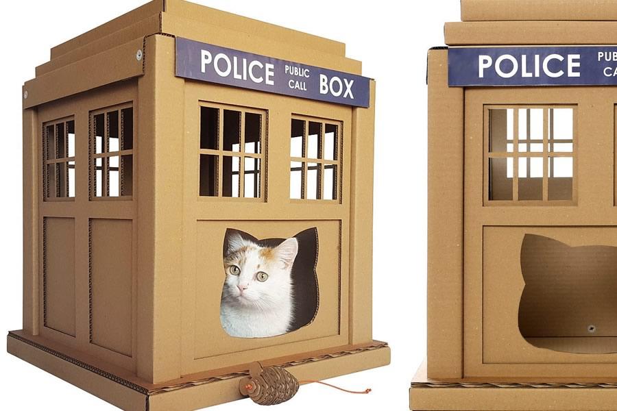Casette per gatti nerd dottorgadget - Cucina casalinga per gatti ...
