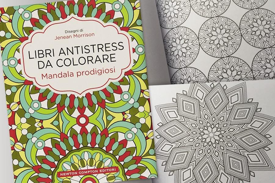Libro da colorare mandala prodigiosi dottorgadget - Libro da colorare elefante libro ...