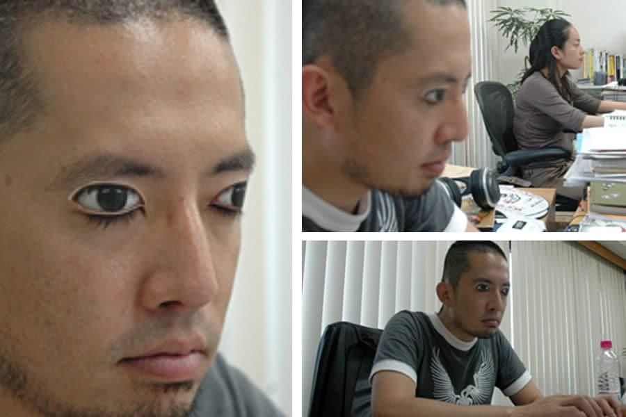Occhi adesivi per palpebre dottorgadget for Adesivi per piscine