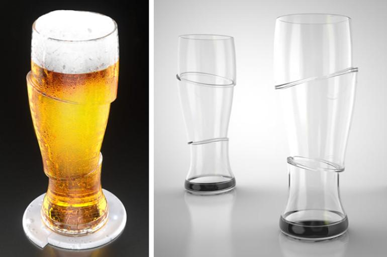 I bicchieri di birra a fette dottorgadget for Bicchieri birra prezzi