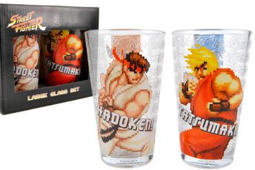 Bicchieri di Street Fighter