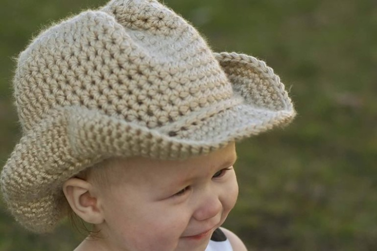 Top Cappello da cowboy all'uncinetto | DottorGadget RT18