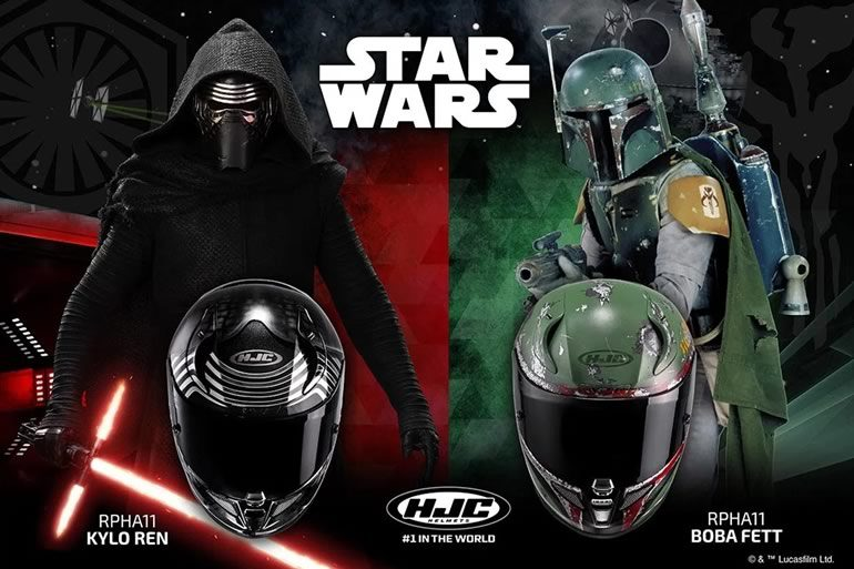 caschi hjc boba fett e kylo ren dottorgadget. Black Bedroom Furniture Sets. Home Design Ideas
