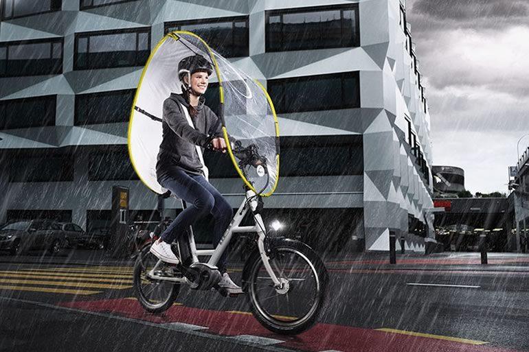 Mantelle pioggia bici