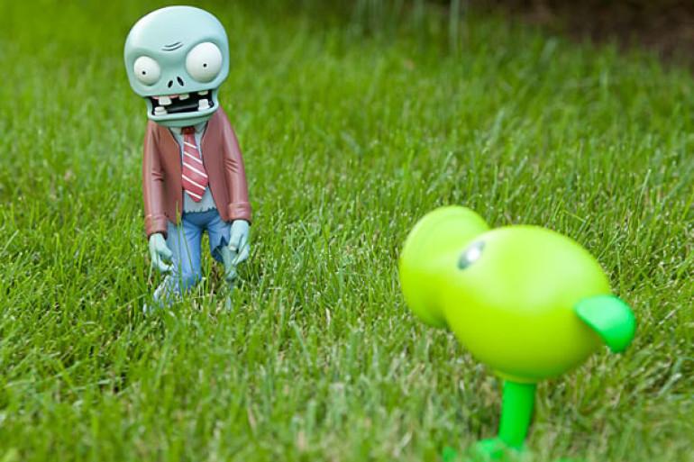 Le statuine da giardino di piante contro zombie dottorgadget for Le piante da giardino