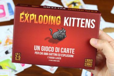 Recensione Exploding Kittens