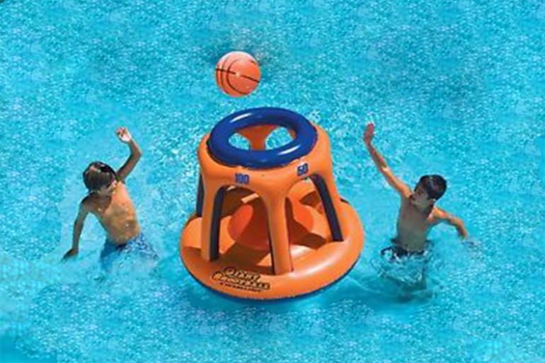 Canestro galleggiante dottorgadget for Gadget da piscina