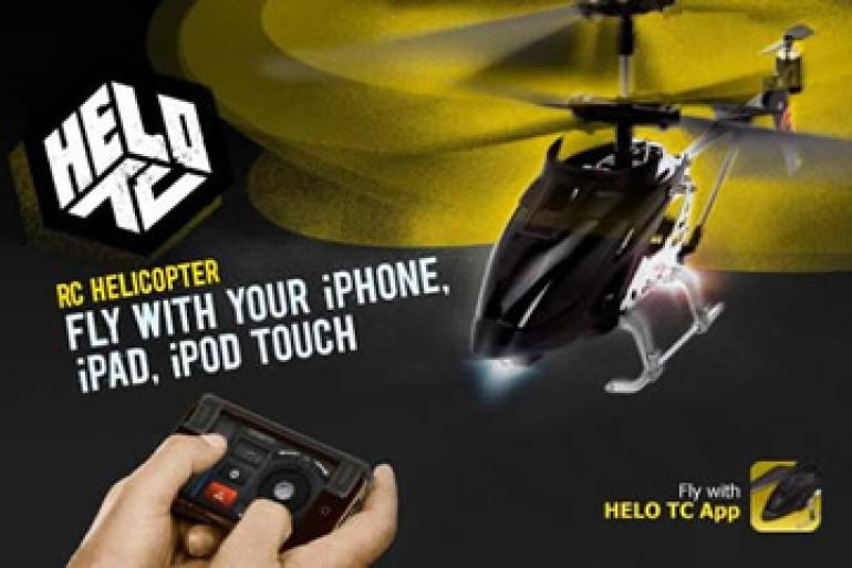 Iphone 6 Elicottero : Helo tc l elicottero radiocomandato via iphone dottorgadget